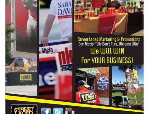 Street Laced Marketing Flyer