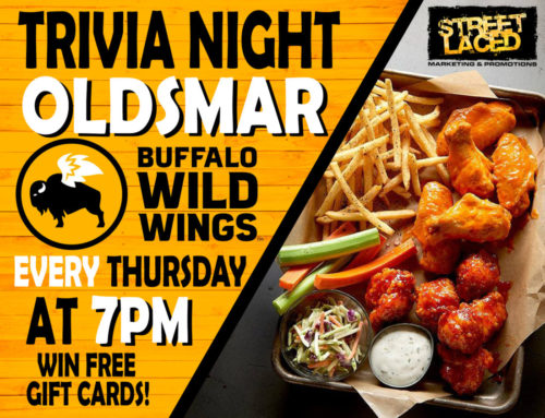 Street Laced brings #ThursdayNightTrivia to Buffalo Wild Wings Oldsmar