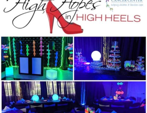 "Street Laced Glows For ""High Hopes In High Heels"" 8th Annual Childrens Cancer Center Dance"