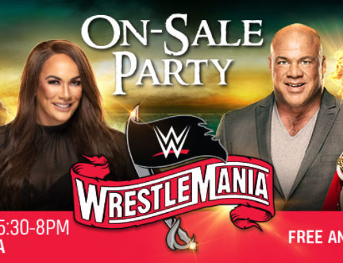 Tampa Bay Sports Commission Locks Down Street Laced For WrestleMania On-Sale Party