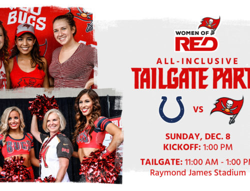 Street Laced DJ's Return To Ray Jay for Buccaneers Women of Red Tailgate