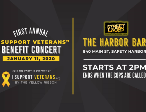 "Street Laced's Greg Wolf set to Host the 1st Annual ""I Support Veterans"" Benefit Concert"