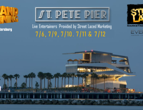 Street Laced Partners with City of St. Petersburg, Event Live For St. Pete Pier Grand Opening