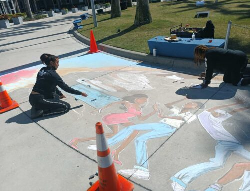 IMG Academy brings in Street Laced for Black History Month Mural